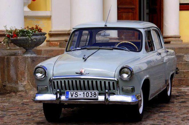 II sērijas gaiši zilā Volga